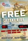 Book 2 Hour Yacht get 1/2 Hour Jet ski Ride Free