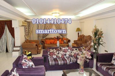 شقة مفروشة 300م للايجار بشارع مكرم عبيد الرئيسي بجوار السلاب مدينة نصر