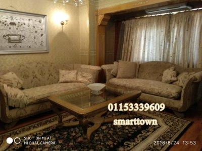 @شقة مفروشة للايجار بشارع رئيسي من عباس العقاد مدينة نصر