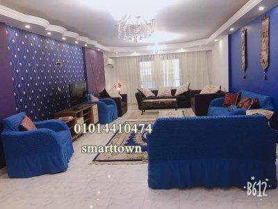 ( شقة مفروشة للإيجار بموقع متميز من عباس العقاد الرئيسي مدينة نصر
