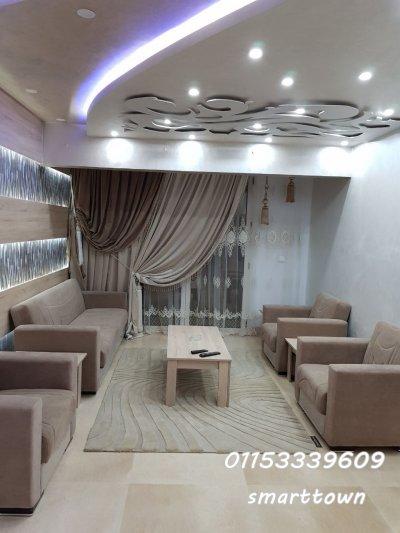 للسكن الفندقي شقة مفروشة للايجار بموقع متميز بالمنطقة الاولى #مدينة_نصر