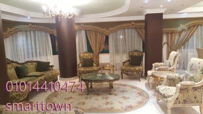 شقة مفروشة للايجار امام سيتي ستارز مباشرة مدينة نصر مدخل شيك 2 اسانسير