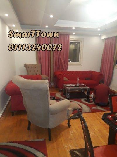 على شارع رئيسي بجوار #سيتي_ستارز شقة مفروشة للايجار بموقع مميز جدا في ()