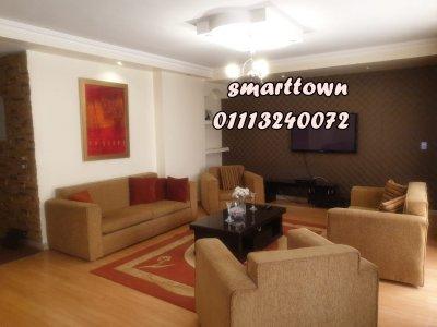 كرم عبيد شقة مفروشة للايجار 240م #فندقية خلف السلاب شارع راقي مدينة ن