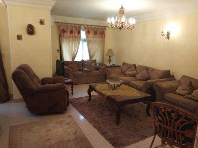 شقة مفروشة فرش فندقي أمريكي  للايجار بأرقى موقع بين عباس العقاد