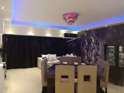 امام #سيتي_ستارز_مول شقة مفروشة للايجار بموقع مميز مدينة نص*&