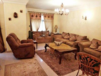 شقة مفروشة فرش أمريكي للايجار بأرقى موقع بين عباس العقاد ومكرم عبيد