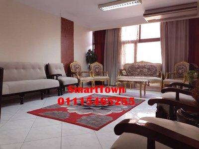 شقة سكنية مفروشة غير مجروحه عمارات رابعة الاستثماري مدينة نصر0