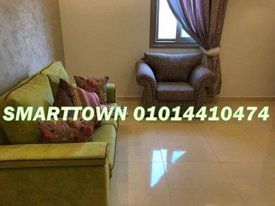 شقة غرفتين بشارع عباس العقاد الرئيسي مدينة نصر--