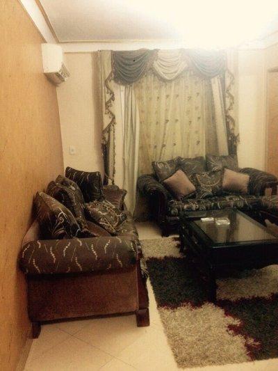 شقة للايجار  في مدينة نصر مفروش دور 3