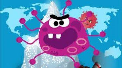 شائعات عن فيروس كورونا بطريقة كرتونية لكن ملغومة